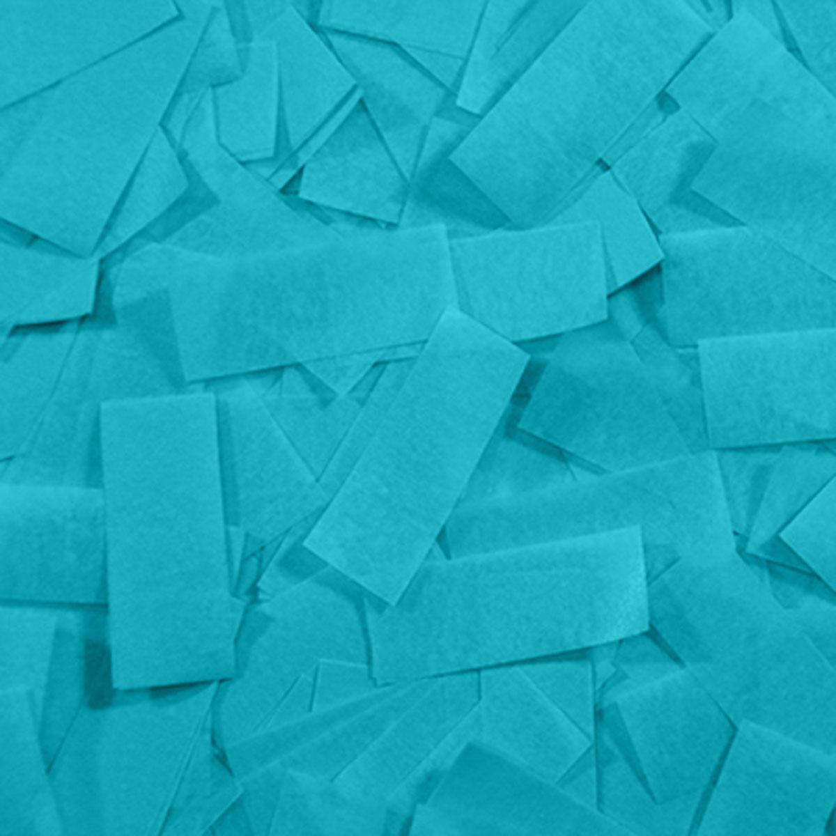 Бумага для шоу папиросная (тишью) Лайт Конфетти голубая