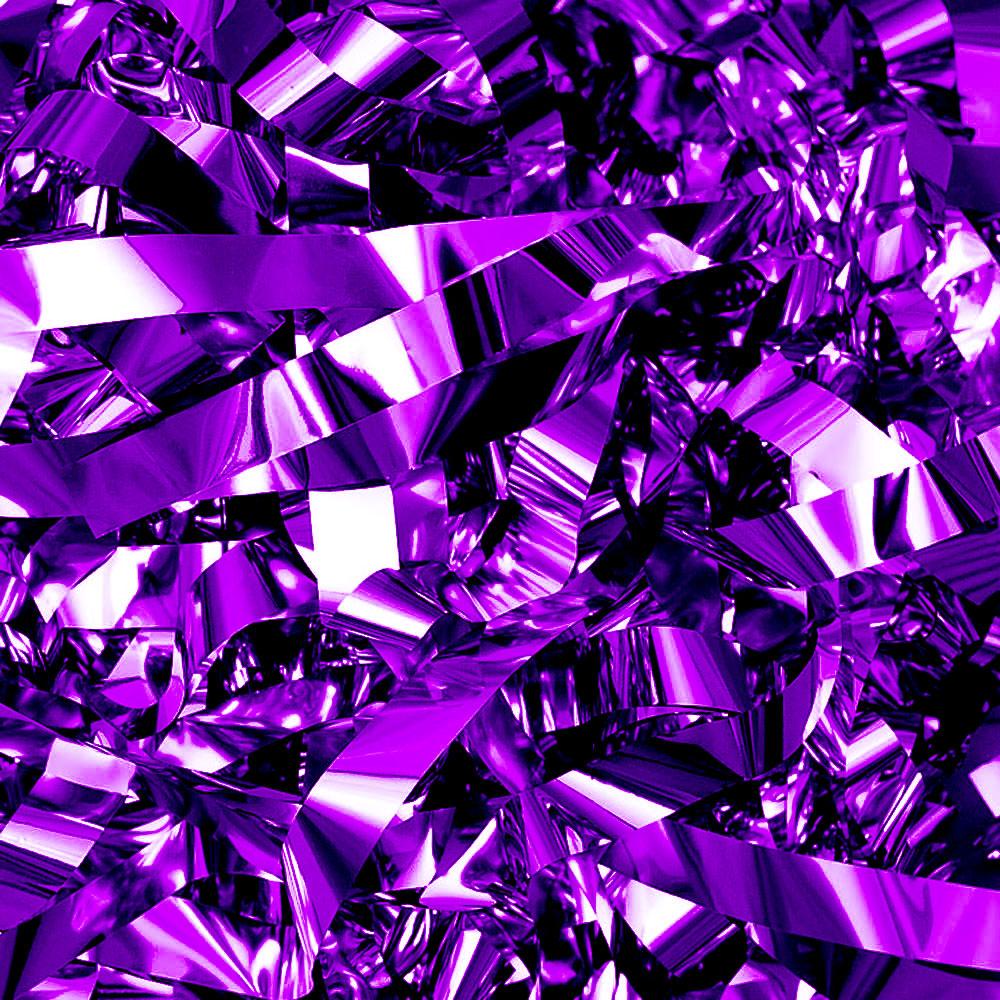 Бумага для шоу фольгированная цветная фиолетовая