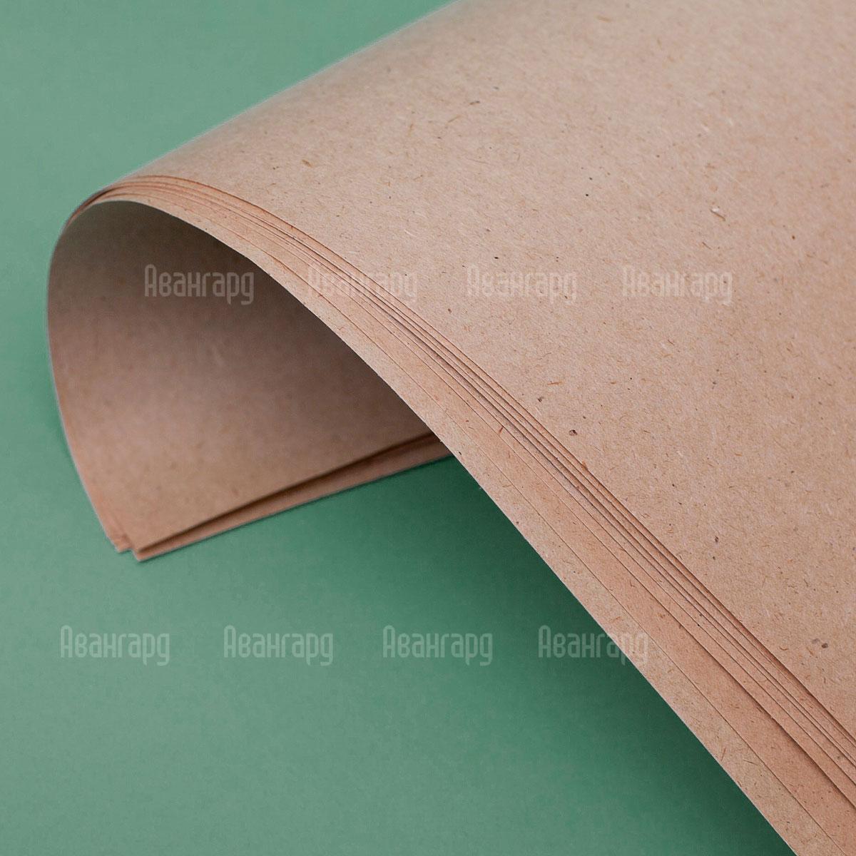 Бумага оберточная резаная Кондопога. Бумага марки Е
